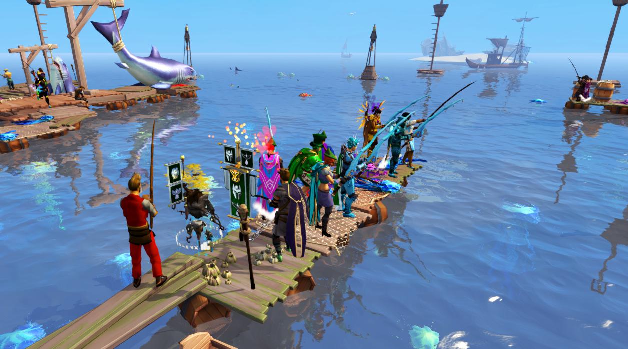 Deep Sea Fishing (fishing for recruits!)